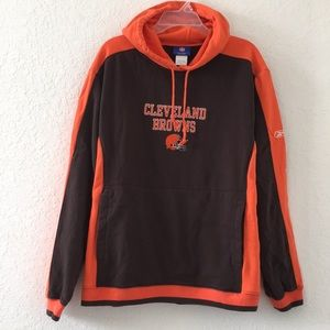 Men NFL Cleveland Browns Hoodie Jacket size M
